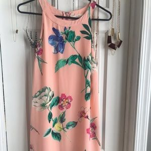 Light Pink Floral Boutique Dress